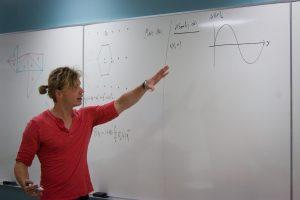 math professor teaching