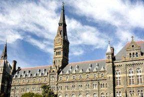 Top 10 Majors at Georgetown University