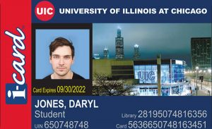 UIC Icard sample