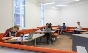 A Study Space with students