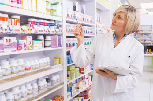 A pharmacist is a drug shop