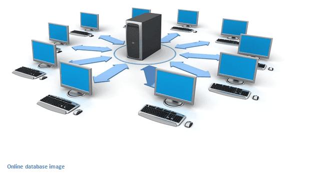 database on multiple computers