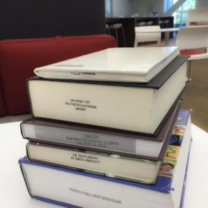 Books sourced through interlibrary services