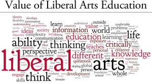 Different words that are shown to value liberal arts