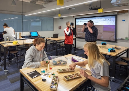 The Technologies Studio is open to all students, faculty, and staff at Millikin