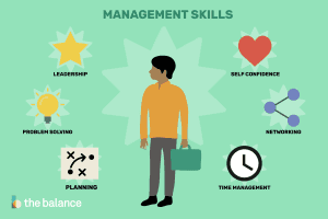 various types of management skills