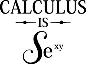 calculus is sexy