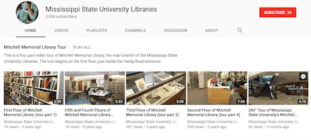 Access to videos on topics ranging from research methods to software tutorials.