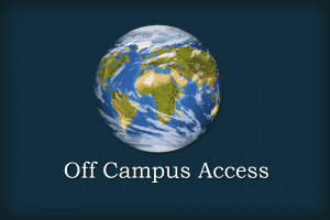 Off-campus access