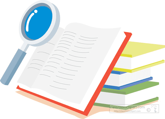 searching for information in a book