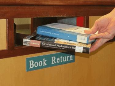 return books