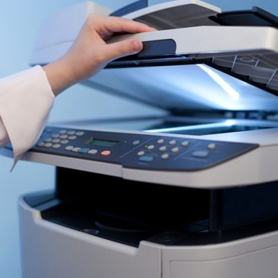 Printing and scanning at the library
