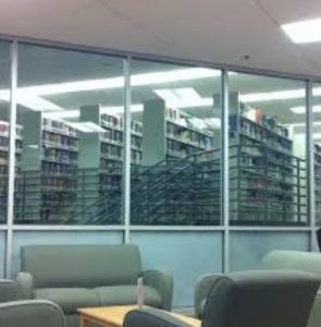 Inside The James L. Stamps Theological Library