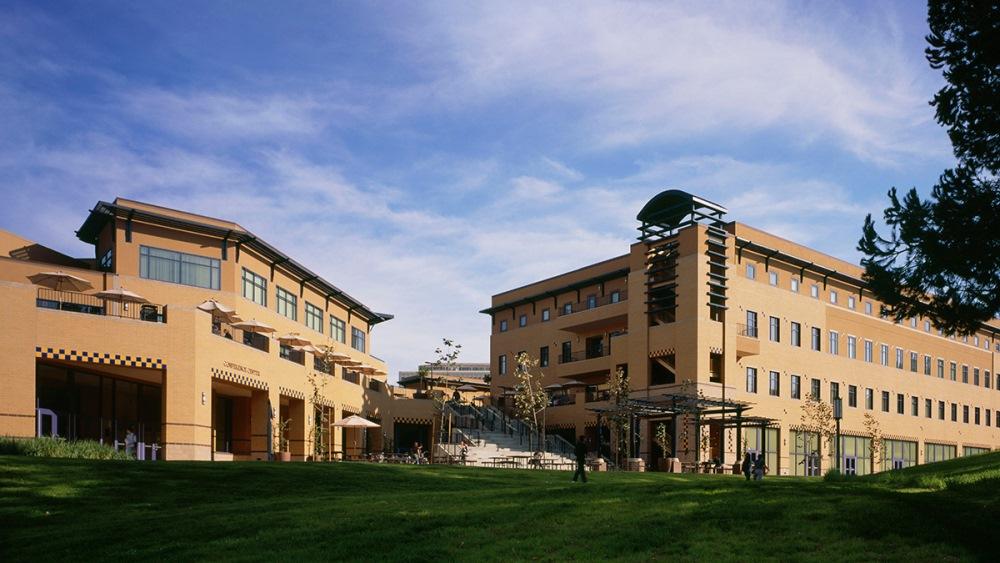 The main buildings at University of California-Irvine