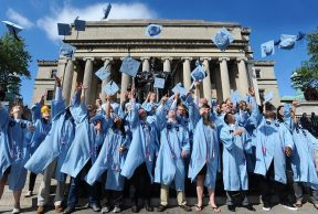 Top 10 Majors at Columbia University
