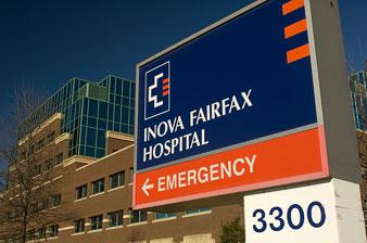 Fairfax hospital emergency center