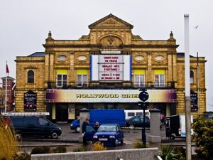 image depicting an old vintage theater