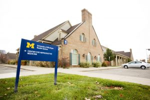 One of the health centers run by the University of Michigan