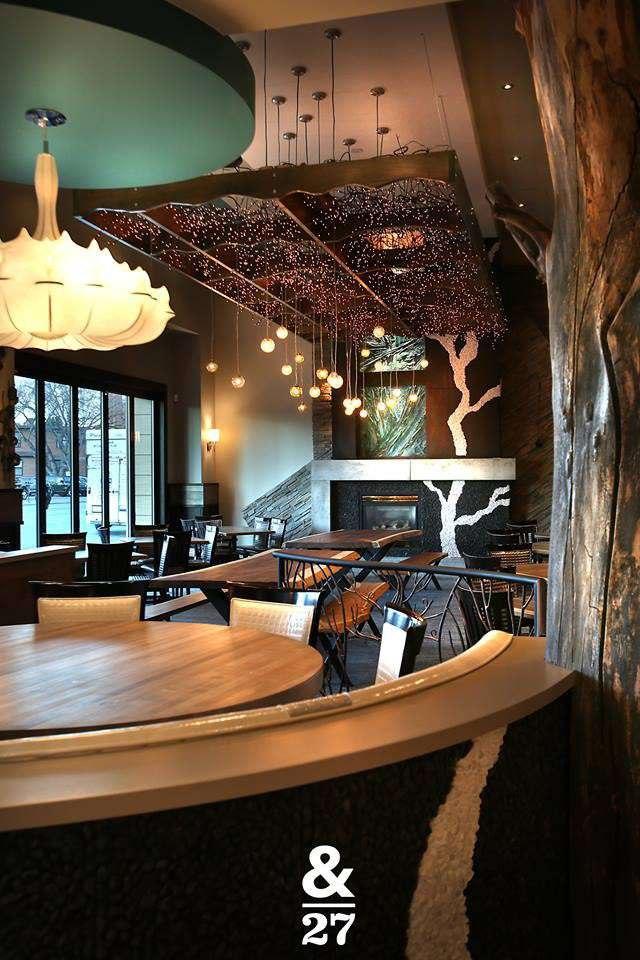 Beautiful interior of Ampersand 27