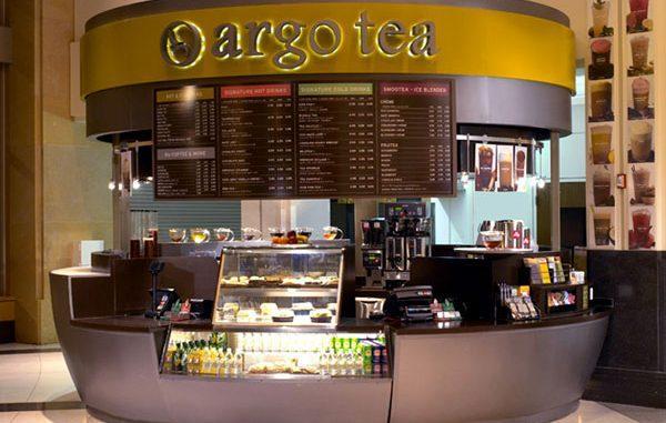 Counter of Argo Tea