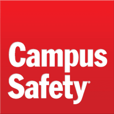 Campus safety written on a red surface