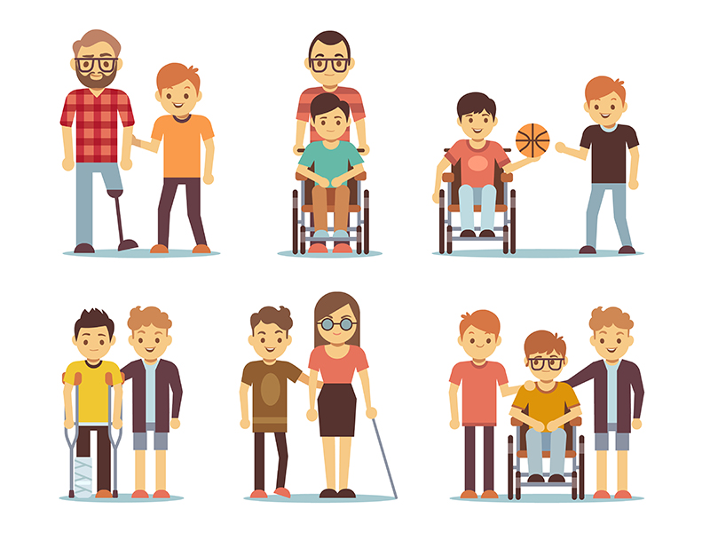 image of various forms of disability