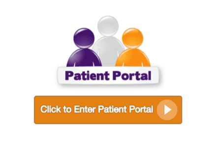 Image for helping people how to enter in  Patient Portal