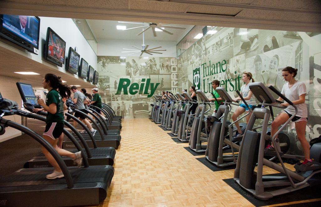 Reily Center that holds recreational facilties