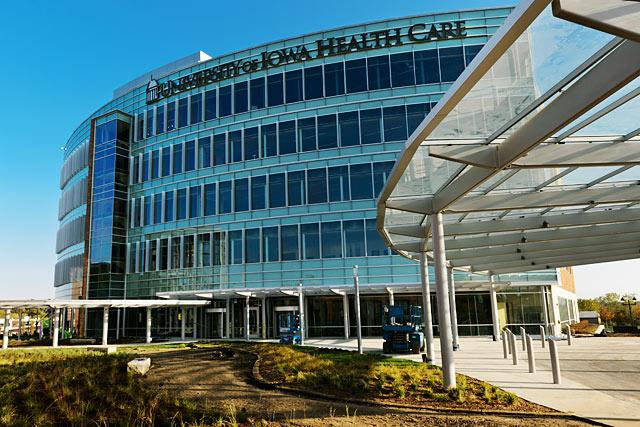 This is the Children's Hospital in Iowa City, Iowa. It is home to thousands of patients that staff are taking countless hours trying their best to help them to their maximum effort. The University of Iowa helps the hospital through Dance Marathon donations, volunteering, and the Iowa Sports Association are big supporters.
