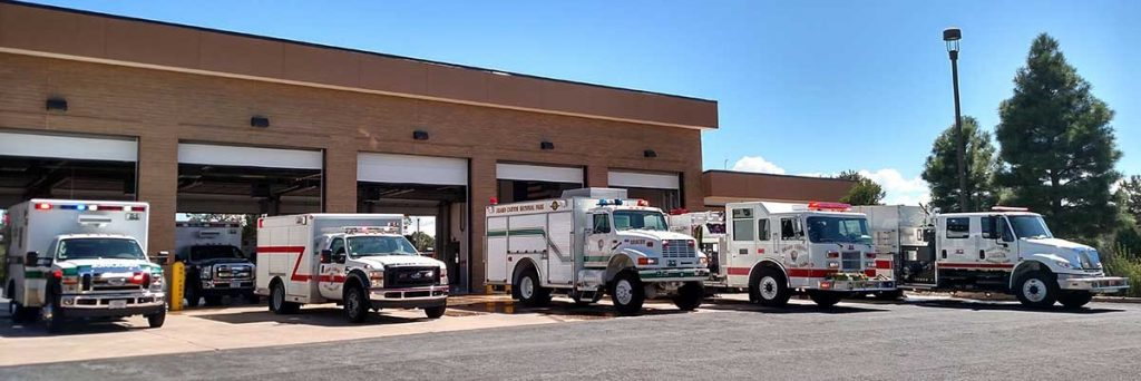 5 emergency service vans