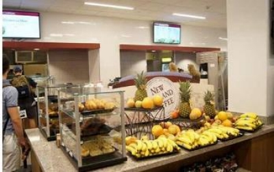 Food counter of Lyons Hall