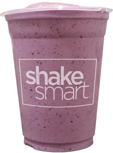 Blueberry shake cup