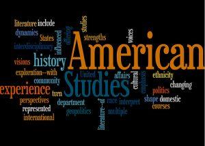 American Studies word cloud
