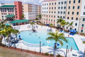 Restaurant and Cafes for students at Florida Gulf Coast University