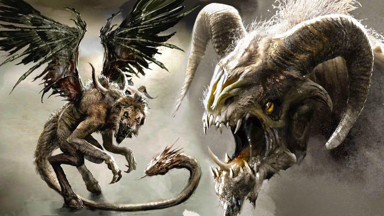 The ancient Greek monster mythology