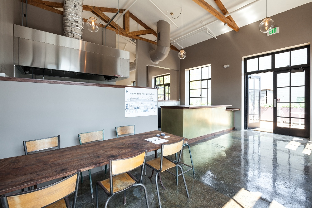 Forage Kitchen interior