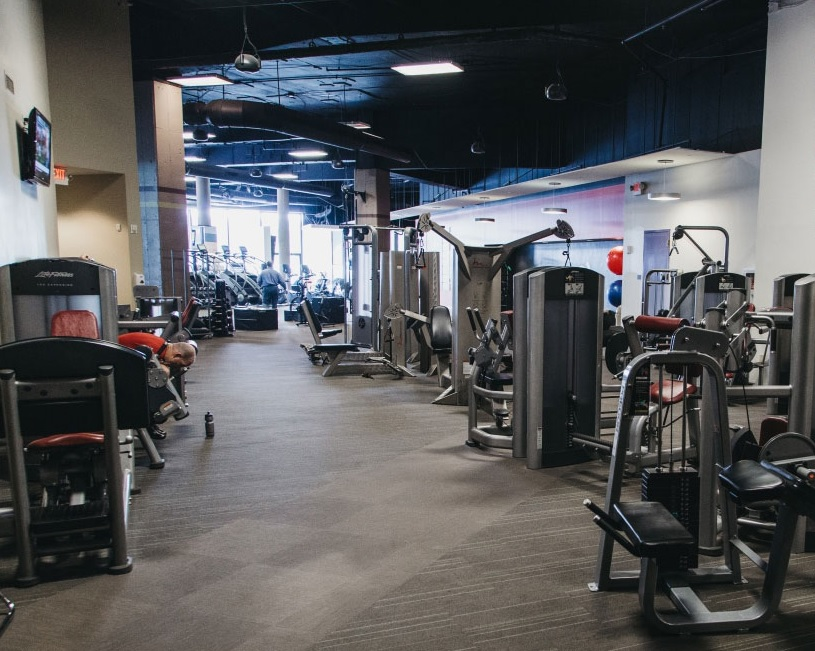 The state-of-the-art gym at CSULB