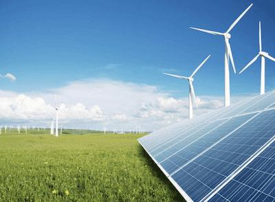 Sources of renewable energy.