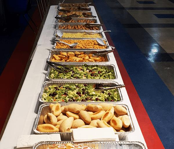 Varieties of foods at Homer's Restaurant