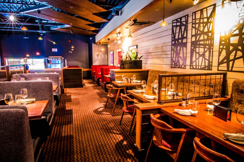 Inside the Keg Steakhouse and Bar