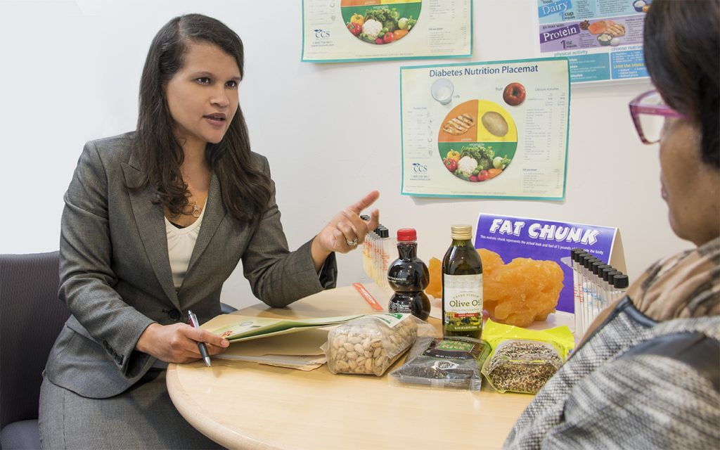 consulting a Dietician