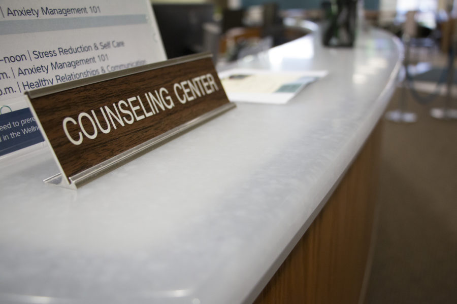 Counselling center Reception