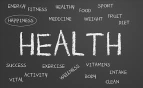 Word cloud about health