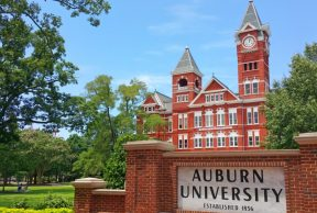 10  Majors at Auburn University