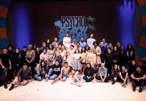 CSUSB's Department of Theatre Arts kicks off its 2018-19 season with its production of 'Psycho Beach Party,' featuring a 1960s Malibu beach party