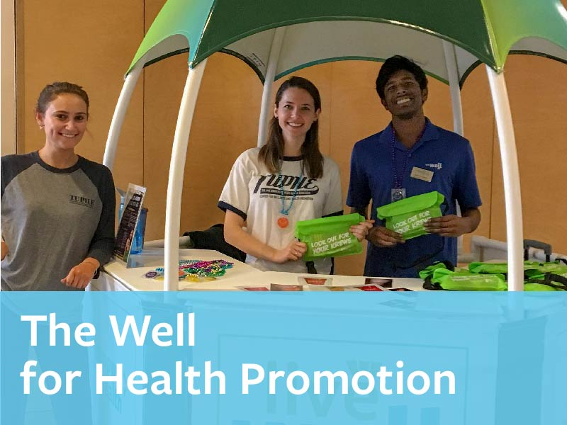 The Well for Health Promotion