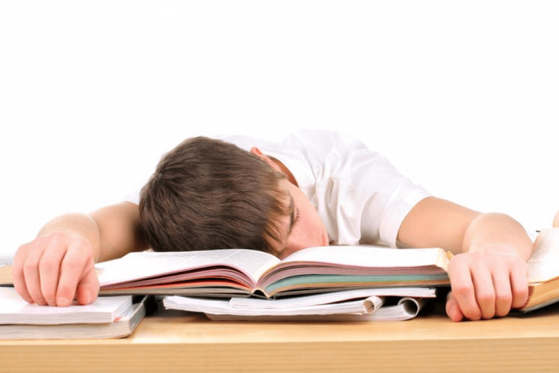 New Study Shows Students' Sleep Significantly Suffers before Exams