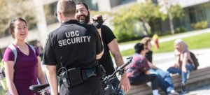 Picture of UBC's security