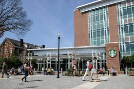 The Starbucks located at the UTC Library
