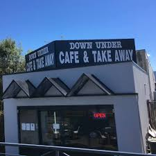 The front elevation of the Downunder Café